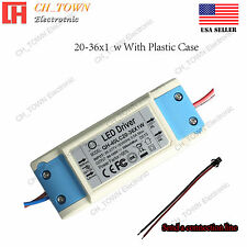 Constant Current LED Driver 30W 20-36X1W Lamp Light Bulb Power Supply USA