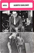 FICHE CINEMA :  ALBERTO CAVALCANTI -  Brésil (Biographie/Filmographie)