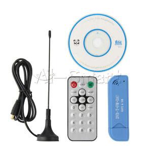 USB 2.0 Digital DVB-T SDR+DAB+FM HDTV TV Tuner Receiver Stick RTL2832U+R820T2 AI