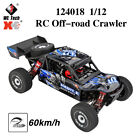 Wltoys 124018 1/12 RC Car 2.4G 4WD 60Km/h High Speed RC Off-road Crawler RTR
