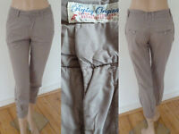 Replay Hose Chino Pants Girl Chinos ¾ Bein lässiger Casual Style Grau 26 Top