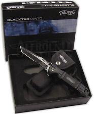 Walther Black Tac Tanto Taschenmesser 5.0716 Messer Rettungsmesser + Holster