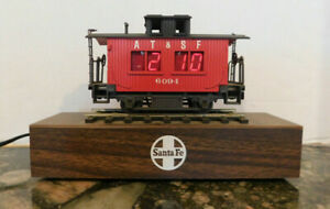 Santa Fe Caboose Digital Desk Clock
