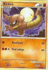 "Carte Pokemon "" KICKLEE "" Niveau BASE INDOMPTABLE PV 80 52/90"