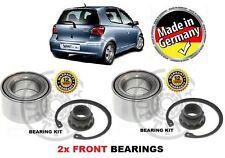 pour Toyota Yaris/Vitz & verso 1999-2006 2x Roulement roue avant KIT COMPLET
