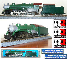 RIVAROSSI 9196 LOCOMOTIVA VAPORE 4-6-2 UNDECORATED SOUTHERN-PACIFIC USA SCALA-N