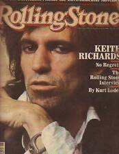 1981 Rolling Stone November 12- Keith Richards; Pointer