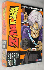Dragon Ball Z: Season 4 Four UNCUT Dragonball DVD Box Set - NEW & SEALED