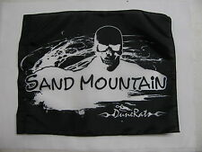 DuneRats Original Custom ATV Motorcycle Safety Whip Flag  Sand Mountain Skull