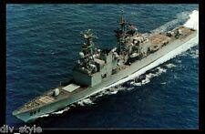 USS Hewitt DD-966 postcard US Navy Destroyer warship