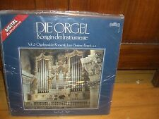 DIE ORGEL-VOL.2-HANS CHRISTOPH BECKER-HAMELN-INTERCORD AUDIO SEALED NEW ORGAN LP