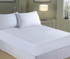 """16"""" Extra Deep Quilted Mattress Protector Fitted Sheet Bed Cover All Size"""
