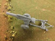 "Marx Toys PL-943GY ""WW II 155 Howitzer (Gray)"" 54mm Plastic Toy Soldier Gun"