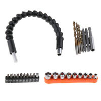 Screwdriver Drill Bits Extension Shaft Flexible Hex Connecting Link Kit