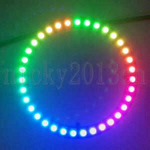 5V WS2812B LED Pixel Ring Module Light Halo 5050 RGB 24LEDs Circle Addressable