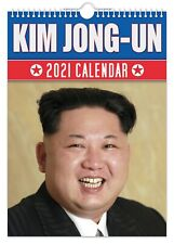 Kim Jong-un - 2021 Wall Calendar // Funny / Quirky / Christmas / Birthday / Gift