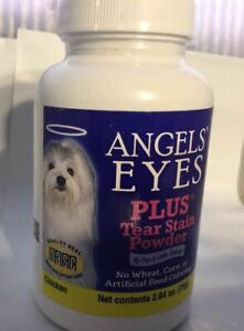 Angels Eyes Plus tear stain powder 2.64 oz chicken - Short Dated Expires 04-2021