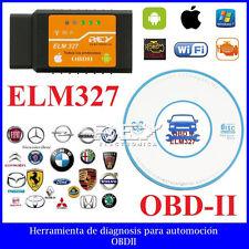 ELM327 Interfaz V2.1 Wifi OBD-II OBD2 Análisis Diagnosis Coche Vehículo m87