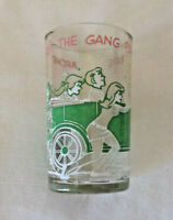 Vintage scarce Archie takes gang for a ride car comics glass drinking tumbler