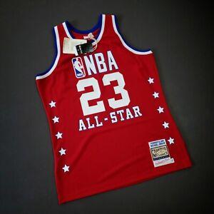 100% Authentic Michael Jordan Mitchell Ness 1989 All Star Jersey Size 44 L Mens