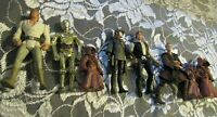 Kid's Vintage MIXED ACTION Figures Lot of 8 STAR WARS LUKE C3PO HAN SOLO LEIA