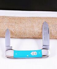 CARL SCHLIEPER EYE BRAND SOLINGEN GERMANY BLUE CANOE KNIFE RARE