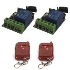 Control Remoto Interruptor Inalámbrico 12 V 10 A Módulo de Relé alternar múltiples Interruptor de retraso momentáneo