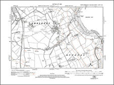 Northumberland in 1921 94NE repro Gosforth Old map of West Jesmond