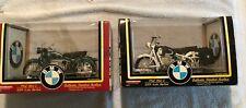 Nib Tootsie Toy 1960 Bmw R60-2 1/10th Scale Die Cast Motorcycle Green & White