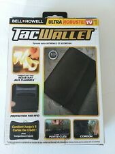 Bell + Howell Tac Wallet RFID Protected Technology,  Ultra Robuste As Seen on TV