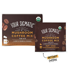 Four Sigmatic Mushroom Coffee with Lion's Mane & Chaga For Concentration +