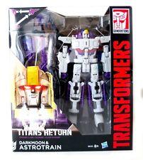 Transformers Hasbro Titan Returns Voyager Astrotrain and Darkmoon