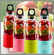 US! Portable Mixer Bottle USB Electric Juicer 500ML Handheld Cup Juice Blender