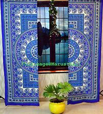Indische Mandala Vorhänge Fenster Vorhang Dekor Hauptkunstdekor handgefertigte