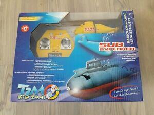 Jouet boite origine SUB EXPLORER sous-marin T600 T2M KID ZONE toy radiocommandé