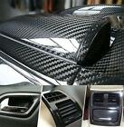 Parts Accessories 5d Glossy Carbon Fiber Vinyl Film Car Interior Wrap Stickers