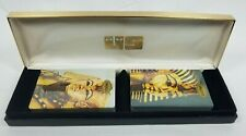Congress Tutankhamun 2 Deck Playing Cards Boxed Set USPCC New Sealed King Tut