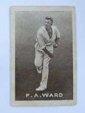ORIGINAL 1930S CRICKET TRADING CARD / F WARD - AUSTRALIA .. GRIFFITHS SWEETS