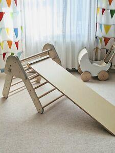 Pikler triangle only no ladder climbing frame toddler climber montessori pickler