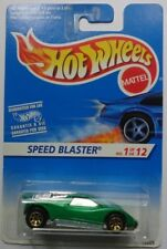 1995 Hot Wheels First Edition Speed Blaster 1/12 (Gold 7 Spoke)(Int. Card)