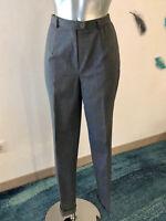pantalon à revers laine grise BERNARD ZINS taille 36 fr 40i neuf étiquette