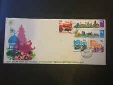 Selection of 3 Singapore First Day Covers - 1971, 1987 & 1988