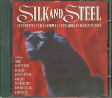 Silk And Steel - Cher/Pretenders/Annie Lennox/Roxette/Kate Bush/Bonnie Tyler Cd