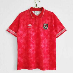 1990/92 Wales Retro Home Shirt