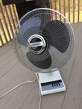 Vintage Rare Panasonic Pedestal Fan 3 Speed Oscillating Desk Fan F-1609C