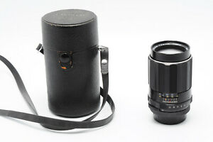 VINTAGE ASAHI OPTICAL 135MM F3.5 SCREW MOUNT CLASSIC LENS WITH CASE