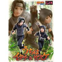 G.E.M. Series NARUTO Shippuden Itachi Uchiha & Sasuke Figure new