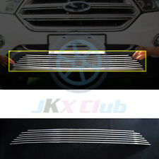 For Ford Edge 2015-2018 Stainless Steel Front Bumper Lower Grille k Trim Cover
