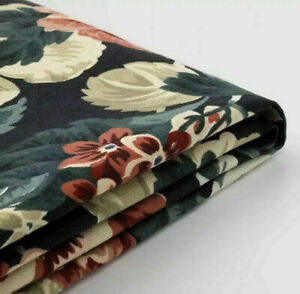 New Ikea SAKARIAS Armchair Cover ONLY LINGBO Multicolor Dark Floral  304.127.21