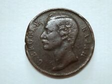 British Sarawak 1887 C.Brooke Rajah One Cent Old Coin